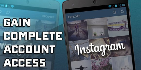 Hack into any Instagram Account with our App • iOS & Android